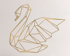 Geometric Deer Decal Geometric Deer Wall Art Home by LivingWall