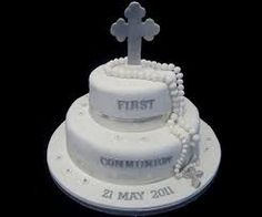 Image result for first communion cakes images