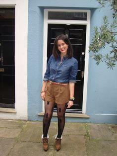 Fashion my legs - The Tights and Hosiery blog: How to wear shorts and tights