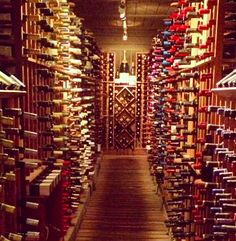 So many wines, not enough time! #winetunnel #tarpysroadhouse