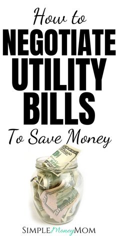 Mar 9, 2020 - Trying to negotiate your utility bills may seem like an arduious task but trust me, if you take the time to do it right, you can save hundreds.