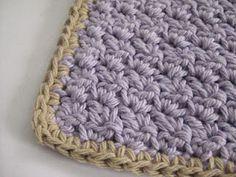 Free Pattern:: Crochet an Easy Peasy Washcloth