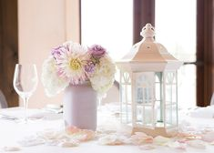 Blooms Florist, Centerpieces, Table Decorations, Pastel Purple, Our Wedding, Weddings, Photo And Video, Create, Instagram