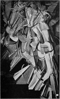 Eliot Eliofson, Duchamp descending a staircase, photograph