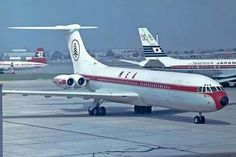 Middle East Airlines ('MEA') Vickers Standard VC10 (Series 1100) OD-AFA (c/n: 803), formerly G-ARTA of BOAC.
