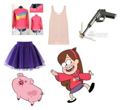 """Gravity Falls - Mabel Pines"" by atang-1 on Polyvore featuring Chicwish, MABEL and Chloé"