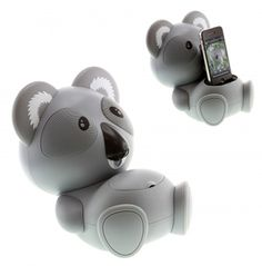 Cute Kitsound koala speaker dock for your iPhone