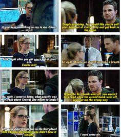 Arrow - Felicity, Oliver Diggle #2.10 #Season2 #Olicity