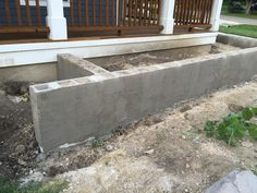 The scratch coat provides stability for the concrete block and also provides the structure for the limestone stone to attach....