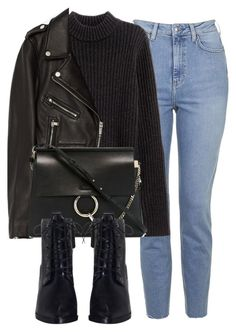 Untitled #6504 by laurenmboot on Polyvore featuring polyvore, fashion, style, H&M, Jakke, Topshop, Zimmermann, Chloé and clothing
