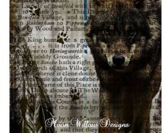 wolf shower curtains - Google Search