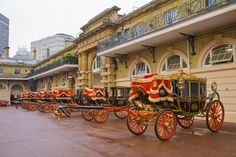 The Royal Mews, Buckingham Palace in London, Greater London