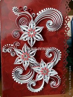 neli quilling art some fabulous quilled cards Note: there Neli Quilling, Ideas Quilling, Paper Quilling Designs, Quilling Tutorial, Quilling Patterns, Quilled Paper Art, Quilling Paper Craft, Paper Beads, Paper Crafts