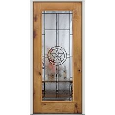 Texas Star Full Glass Door