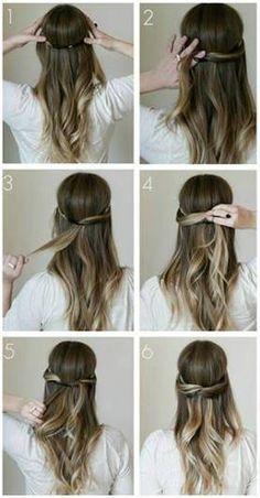 Resultado de imagen para peinados con diadema elastica