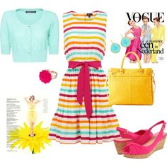 The Brights of Spring - Polyvore