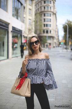 Choose a gingham garment in a modern silhouette. www.stylestaples.com.au