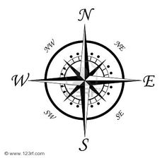 My Nautical Life: Tattoo Inspiration: Compass Roses