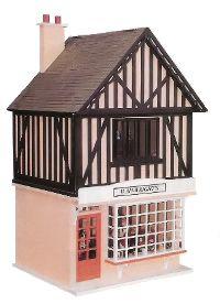 What Makes A House A Tudor slh crafts: tudor house model   houses   pinterest   tudor house