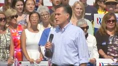 GOP presidential nominee Mitt Romney says the the world needs American leadership and he would lead a nation better able to shape events. Romney opened with reflections of the four Americans killed in Libya.