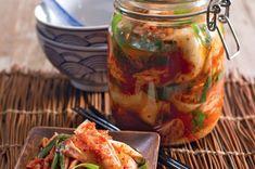 Domácí kimči - bez rybí omáčky, trochu jiný postup (kvasí nejprv samo zelí)