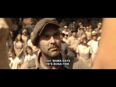"""But you ain't bona fide!  Cute scene from """"O Brother Where art thou"""" George Clooney/ Holly Hunter"""
