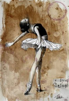 "Saatchi Art Artist Loui Jover; Drawing, ""the finest moment... (SOLD))"" #art"
