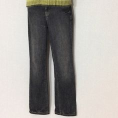GAP Original Fit Straight Leg Relaxed Black Jeans NWOT ⚜ GAP Original Fit Straight Leg Relaxed Jeans Black Size 2R ⚜ Has Crisscross Embroidered Details on back pockets GAP Jeans Straight Leg