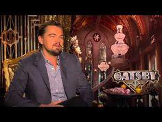 The Great Gatsby (2013) | Junket interview: Leonardo DiCaprio (Gatsby) [VIDEO 6:39]