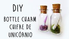 DIY: Bottle Charm Chifre de Unicórnio (Unicorn Horn Bottle Charm Tutorial)