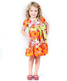 Girls ruffle spring dress summer girl dress by Personalizedkiddie
