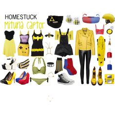Homestuck Fashion: Mituna Captor by khainsaw on Polyvore