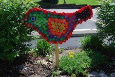 fun craft with kids or making garden art