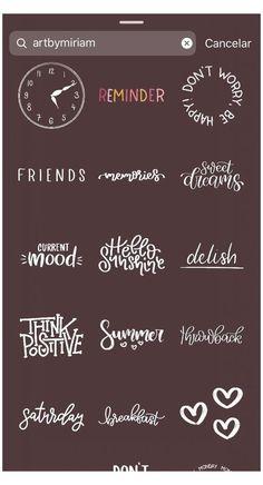 Instagram Words, Instagram Emoji, Iphone Instagram, Instagram Frame, Instagram And Snapchat, Insta Instagram, Instagram Quotes, Instagram Story Ideas, Snapchat Posts