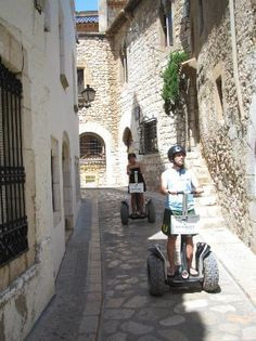 Segway Sitges - Sigtes, Spain. Take a tour of this small and historic beach town.
