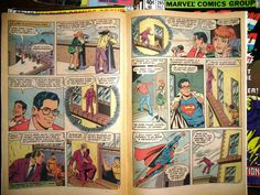 SuperMan Comic Books for Upcycling Vintage Complete by UptownDzynz, $4.00