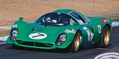 Ferrari 330 P4 (developed after the Ford GT40 beated Ferrari in Le Mans 1966)