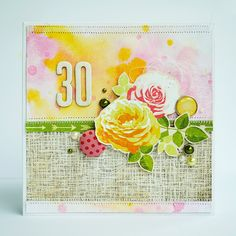 30 years card by Anski