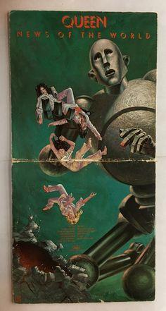 QUEEN NEWS OF THE WORLD VINYL 1976 ELEKTRA RECORDS FREE SHIPPING LP 6E-112-A