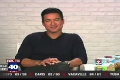 Mario Lopez on a media tour promoting ChewyKeepPlaying.com and healthier lifestyles.   #teamdss