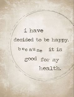 Which involves actively building a life conducive to happiness, not just trying to force an emotion that isn't there for good reasons.