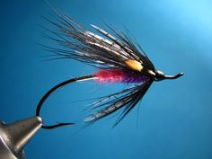 The Coal Miners Daughter - an effective steelhead fly.