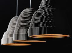 Alexandros Papadopoulos and Designshop introduce us the Papercuts Lights. Handmade lighting from recycled cardboard will give a different style to your space. Uses Of Paper, Small Pendant Lights, Everyday Objects, Paper Cutting, Different Styles, Paper Art, Greek, Ceiling Lights, Handmade