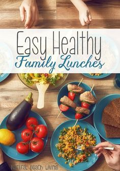 Easy Healthy Family Lunch Ideas, You & your kids will love this food, Picnic ideas, toddler meals, easy on the go meals. Delicious recipes for everyone.