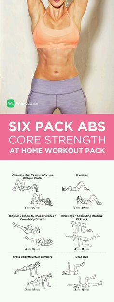 6 pack abs @ home