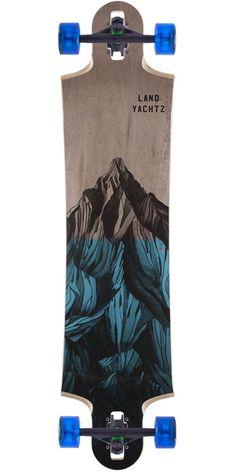 Landyachtz Switchblade 40 Mountain Longboard Complete - Blue