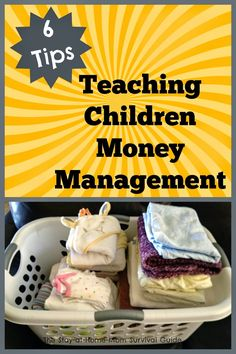 6 Tips for Teaching Children Money Management skills from an early age. Being financially responsible is an important life skill