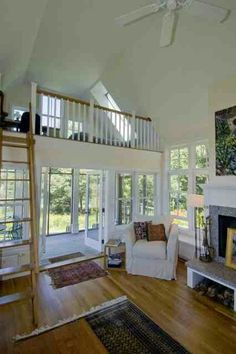 Natural Wooden top steps matching balustrade