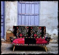 suzani sofa