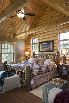 Log Home Photos | Tadmor Springs Home Tour › Expedition Log Homes, LLC
